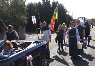 LAC at Ledbury carnival parade 2